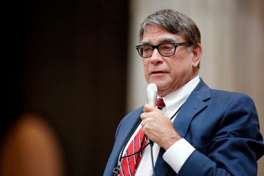 Representative Bill Seitz gives a statement in the House of Representatives at the Ohio Statehouse in downtown Columbus, Ohio, on Wednesday, June 26, 2019.