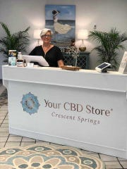 CBD Store Crescent Springs is owned by Elizabeth Kirby and specializes in cannabinoid products.