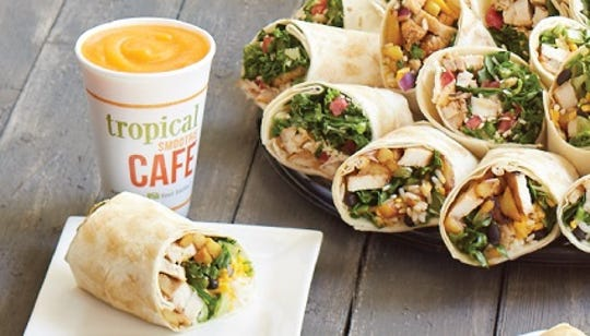 Tropical Smoothie Cafe opens this week in Clarksville.
