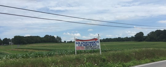 This privately-erected sign fronting Boyd's Pumpkin Farm near Exit 11 issues a call to action.