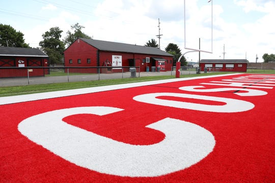 Coshocton's Stewart Field will get a new field house this fall, replacing buildings built in the 1930s.