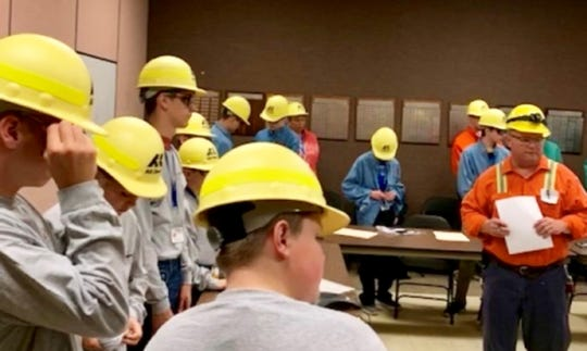 Students in the Coshocton Manufacturing and Technology Camp toured several local facilities such as AK Steel.