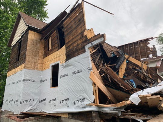The city of Des Moines has already begun demolishing homes as the local-option sales tax nears implementation on July 1.