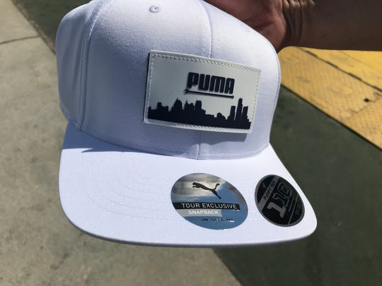 Rickie Fowler's Puma hat sells for roughly $40.