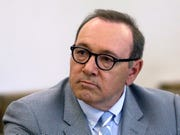 Kevin Spacey attends a pretrial hearing at district court in Nantucket, Mass.