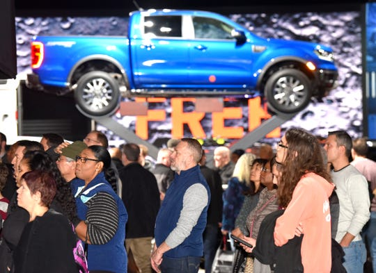 """More details about the rebooted Detroit auto show were revealed Thursday. The event in June 2020 will bring programming not only to Cobo Center, but to Hart Plaza, Cadillac Square and  Campus Martius, Grand Circus, Capitoland Beacon parks. """"Experiential ride-and-drives"""" will be held indoors and outdoors."""