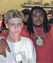 Luke Jacobson and rapper Tee Grizzley