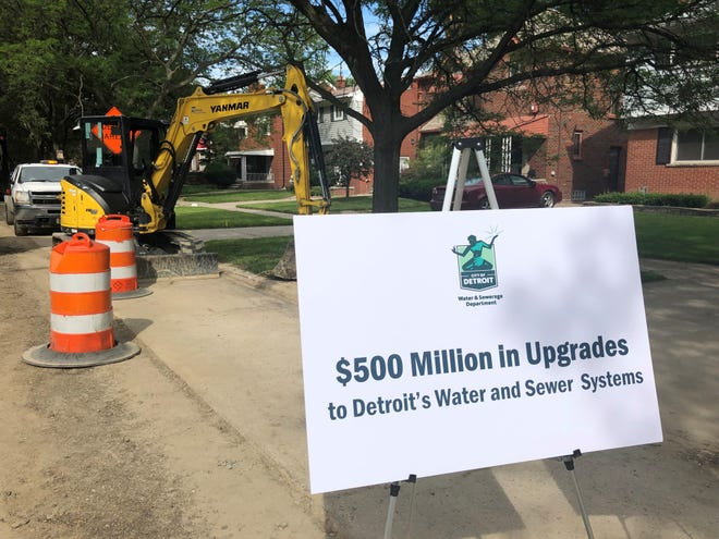Detroit plans to upgrade its water and sewer system with a $500 million effort.
