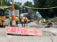 For Evansville small businesses, big construction is a nightmare, but loyal customers help