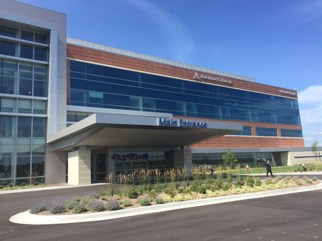 The $95 million Ascension St. Vincent Orthopedic Hospital, on the Warrick Wellness Trail, opens July 8.