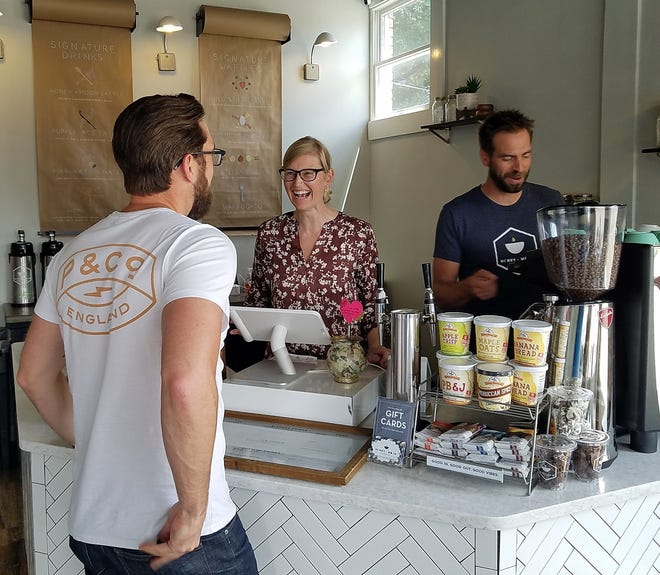 Honey + Moon Coffee shops on Weinbach and Tutor Lane  are now offering wine slushies and will soon add beer to the lineup.