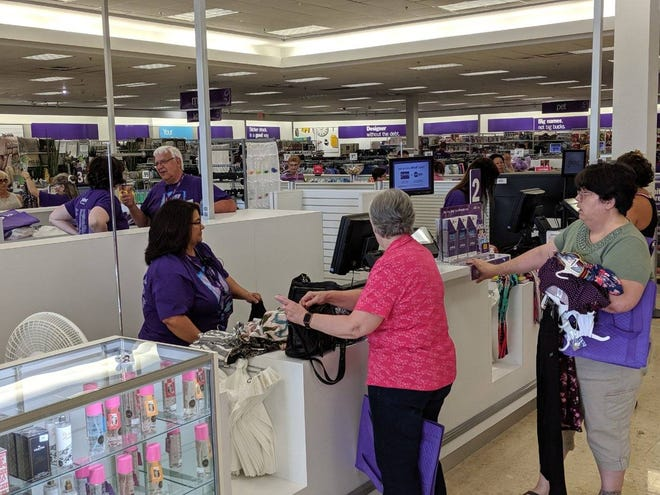 Customers flooded the new Gordmans, 2182 Sean Drive, for its opening day in June.