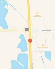 Approximate location of the incident.
