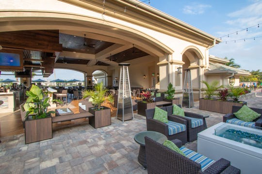 Legends adds Sunset Grill clubhouse amenity.