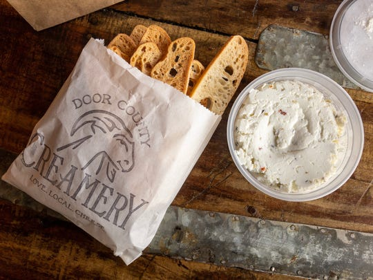 Door County Creamery uses goat's milk from the nearby family farm to make chevre and other cheeses, gelato and soap.