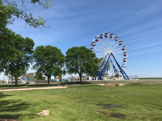 The Big Wheel at Bay Beach Amusement Park in Green Bay will open for riders on Tuesday, July 2, 2019, with a special event.