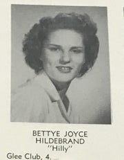 Betty Hildebrand Denton in 1949
