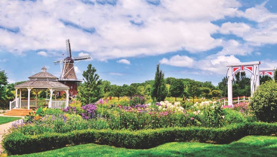 Windmill Island Gardens in Holland, Michigan, is a picturesque attraction.