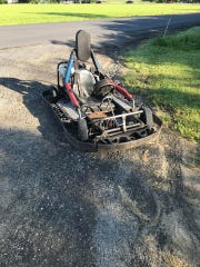 A burglary occurred at Ringwood Raceway in Freeville Tuesday, June 25, 2019. One go-cart was recovered, the second is still missing. Authorities are asking for the public's assistance.