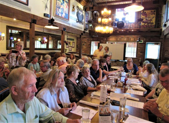 The annual dinner of the Authors Guild of Tennessee was held on June 22 at Mimi's Parkside Drive location.