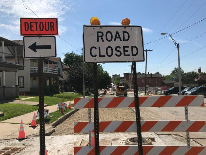 Detours continue around several Greater Lafayette projects in September.