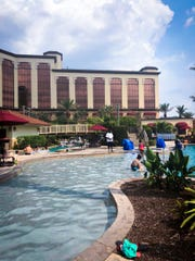 L'auberge Casino and Hotel in Lake Charles has pools and amenities available for room guests as well visitors seeking day rates.