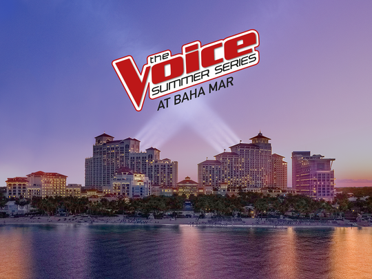 The Voice Summer Series at Baha Mar