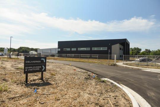 The headquarters of Green Peak Innovations  at Harvest Park Development on Harvest Park Drive in Dimondale.