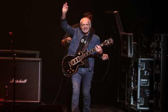 Peter Frampton plays his Farewell Tour at the Orpheum Theatre in Memphis on Wednesday, June 26, 2019.