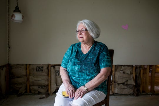 Frances Ivonne Brensdal, 78, and her husband lived in Olive Branch, Miss., on Wellington Drive where their house, along with others on the street, flooded to the point of unlivable conditions.
