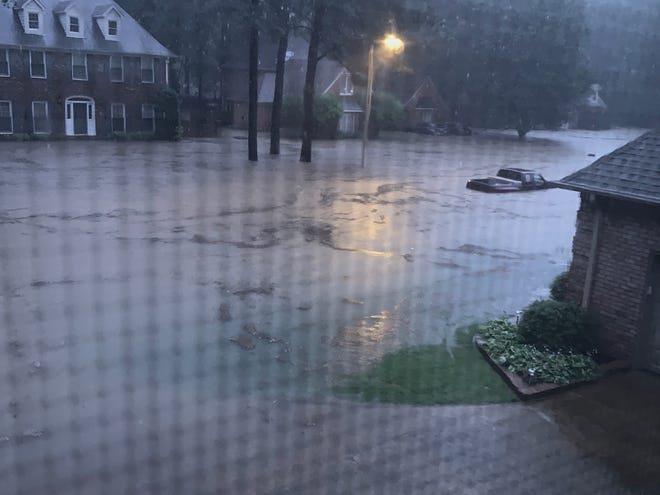 Flooding in Germantown on June 7 left dozens of residents with significant damage to their homes and vehicles.