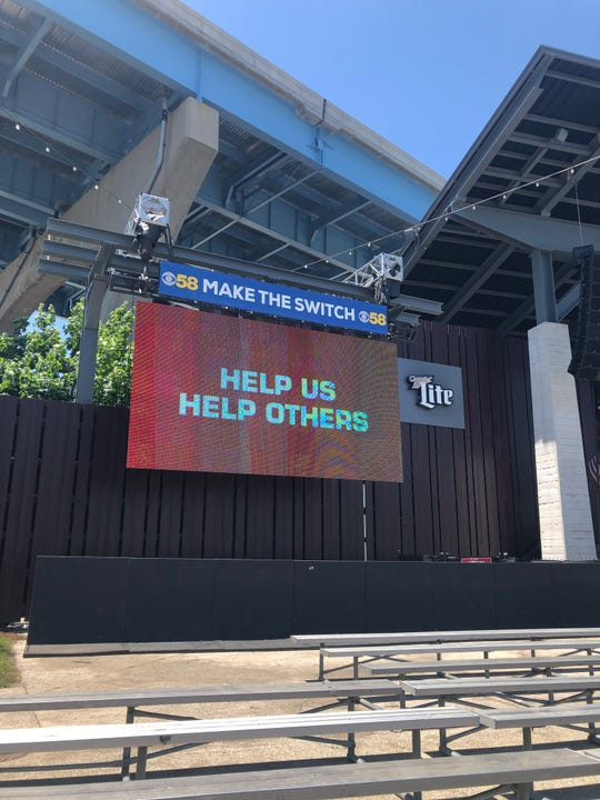 You can join Briggs & Stratton's text campaign in the Big Backyard by following instructions on the screen.