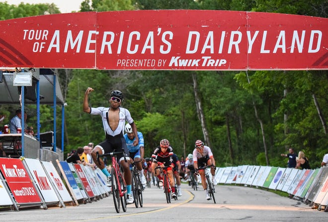 The Tour of America's Dairyland cycling series will stop in Hartland this year.