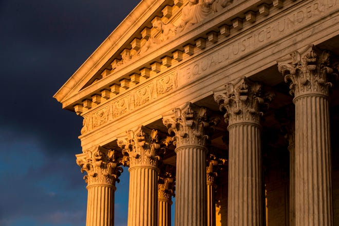 In a 5-4 ruling in 2019, the U.S. Supreme Court ruled federal courts could not consider allegations that election maps were drawn for partisan gain.