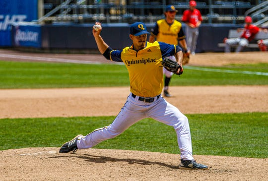 Quinnipiac senior Tyler Poulin of Randolph as selected by the Arizona Diamondbacks in the 29th round of the Major League Baseball draft, No. 872 overall.