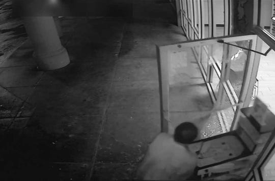 A man is suspected of breaking into a McGehee Road business on June 8.