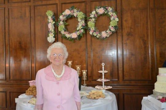 Stella Hobdy of Hayneville, a former MPS teacher, turned 100.