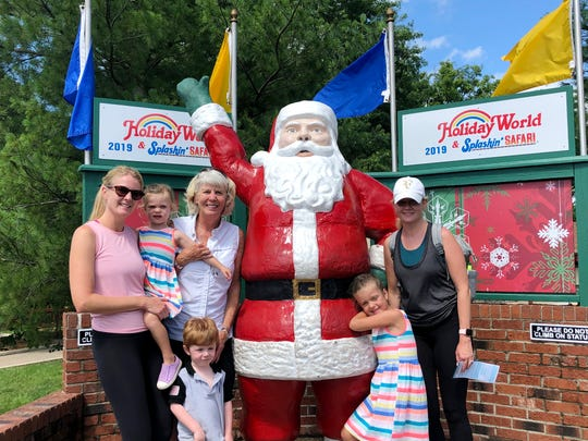 Mary Hance, aka Ms. Cheap, and her daughters and grandchildren made a mini vacation out of a trip to Holiday World and Splashin' Safari in June 2019.