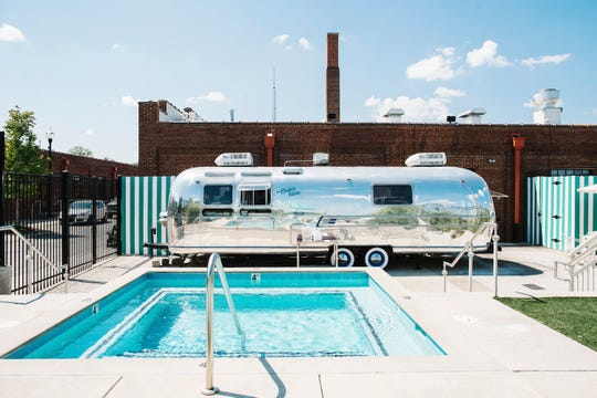 Pinewood Social also has a bona-fide, open to the public pool, conveniently located next to a revamped Airstream with its own food and drink menu.