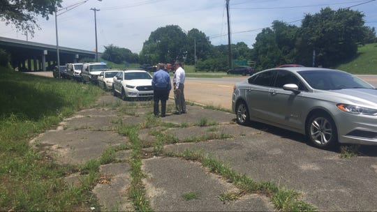 Nashville police responded to a call about a decomposing body discovered about 11:30 a.m. Thursday, June 27, 2019, near the intersection of Murfreesboro Pike and Spence Lane.