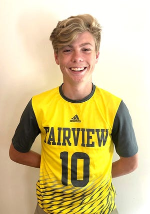 Brandon Parrish of Fairview High School was named the 2018-19 Gatorade Tennessee Boys Soccer Player of the Year on June 6, 2019.