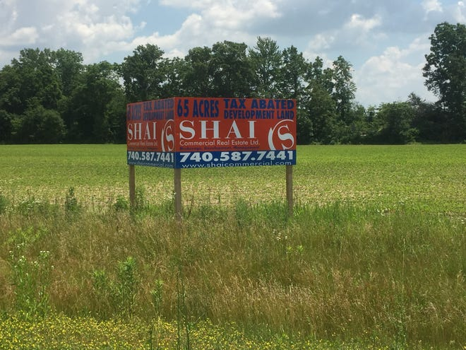 Some of the acreage ready for development at the Pataskala Job Ready Site (JRS) in western Licking County.