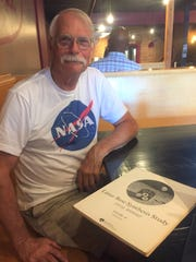 Longtime resident and Kiwanis member Don Lewis is grand marshal for this year's Fourth of July parade, whose theme is built around the 1960 moon landing. Lewis interned at NASA at the time of the first moonwalk.