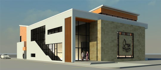 This is a rendering of the new home for the Congregation Ohr Hatorah in Bergenfield.