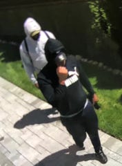 Saddle Brook police are searching for two men suspected in a burglary June 26, 2019.