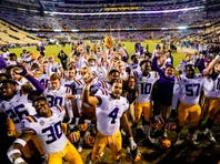 From California to the Beltway, LSU's brand is relevant, and Orgeron is reaping the rewards