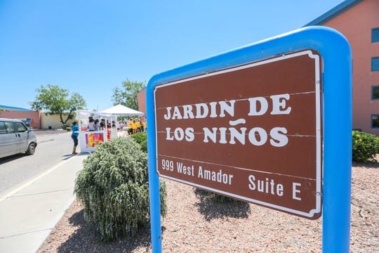 Children sell lemonade to raise money for local nonprofits at Jardin de los Niños near Amador Avenue and Vaslley Drive on Thursday, June 27, 2019.