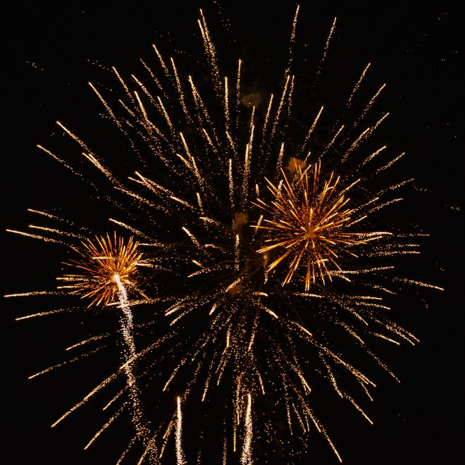 For such a small town, Glenwood puts on an impressive fireworks display.