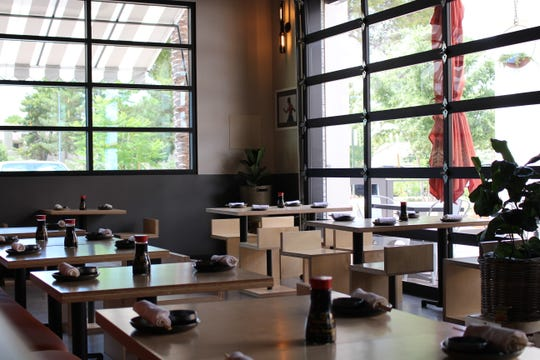 The interior of Obon Sushi + Bar + Ramen in Scottsdale. This is Obon's second location in Scottsdale.