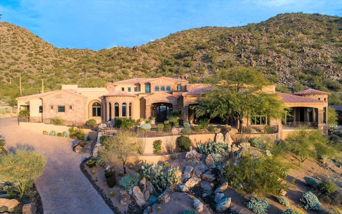 A $2.8 million home in Mesa.